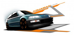 Aquaman Civic