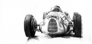 Sketchbook: Auto Union Type C