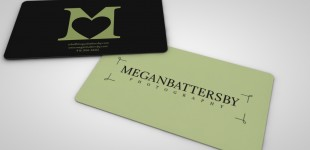 Megan Battersby Photography Brand Identity